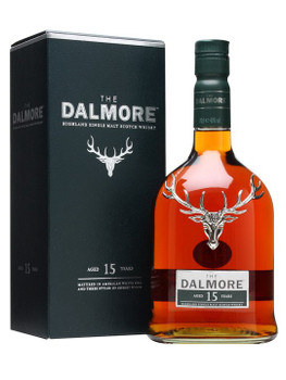 Dalmore Highland Single Malt Scotch Whisky 15 yr 750ml