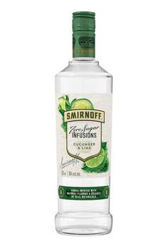 Smirnoff Infusions Cucumber&Lime Zero Sugar 750ml