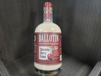 Ballotin Chocolate Cherry Cream 750ml
