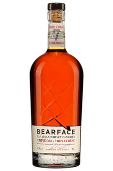Bearface Canadian Whisky Triple Oak 7yr 750ml