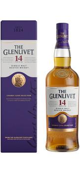 Glenlivet Single Malt Scotch Whisky Cognac Cask Selection 14 yr 750ml