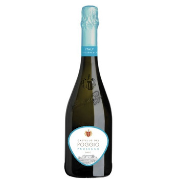 Castello Del Poggio Prosecco Demi-Sec Sparklin Wine 750ml
