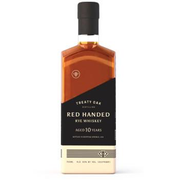 Treaty Oak Rye Whiskey Red Handed 10yr 100pf 750ml