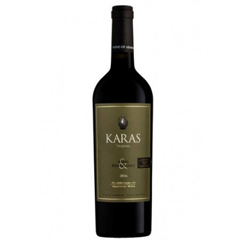 Karas Areni Khndoghni Red Dry Wine Armenian Blend Limited Edition 2018vt 750ml
