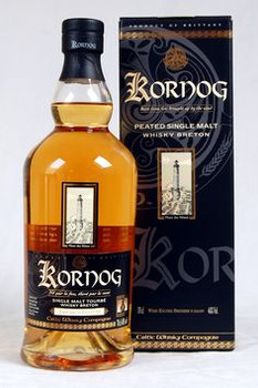 Kornog Peated Single Malt French Whisky 750ml