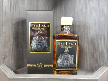 Hye Land Small Batch Single Malt Armenian Whisky 12yr 750ml