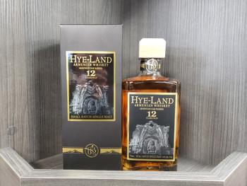 Hye-Land Armenian Small Batch Single Malt Whiskey 12 year 750 ML