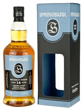 Springbank Single Malt Scotch Whisky Campbeltown 14 YR Old 750ml