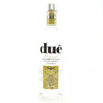 DUE ORIGINAL CHARDONNAY FLAVORED VODKA 750ML