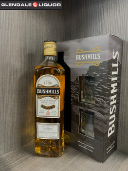 BUSHMILLS SMOOTH & MELLOW  IRISH WHISKEY 750ML