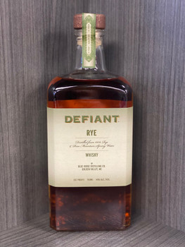 Defiant Rye Whisky 92pf 750 ml