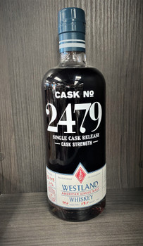 Westland Cask Strength Cask No2479 American Single Malt 750 ml