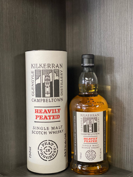 Kilkerran Heavily Peated Batch #3 Single Malt Scotch Whisky 750 ML