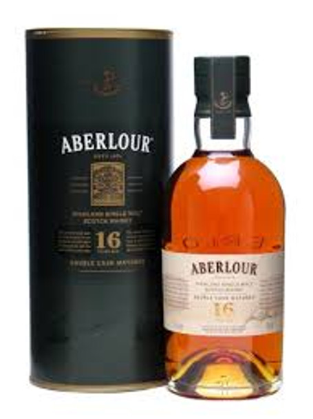 Aberlour scotch single malt double cask 16yr old 750ml