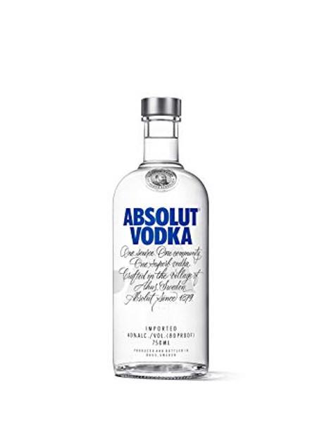 Absolut vodka Sweden 750ml
