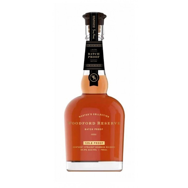 Woodford reserve bourbon Master's collection batch proof limited edition 750ml