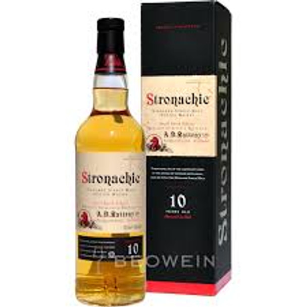 Stronachie scotch single malt highland small batch 10yr old 750ml