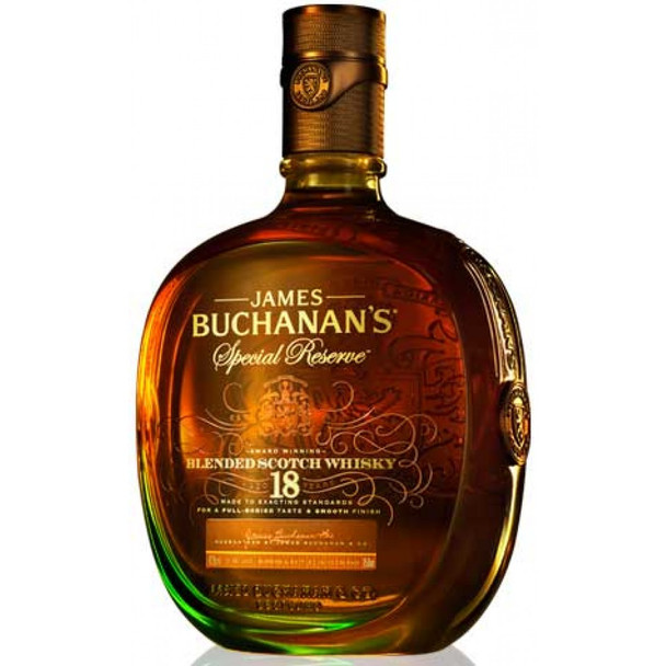 Buchanan's scotch blended rsv 18ur old 750ml