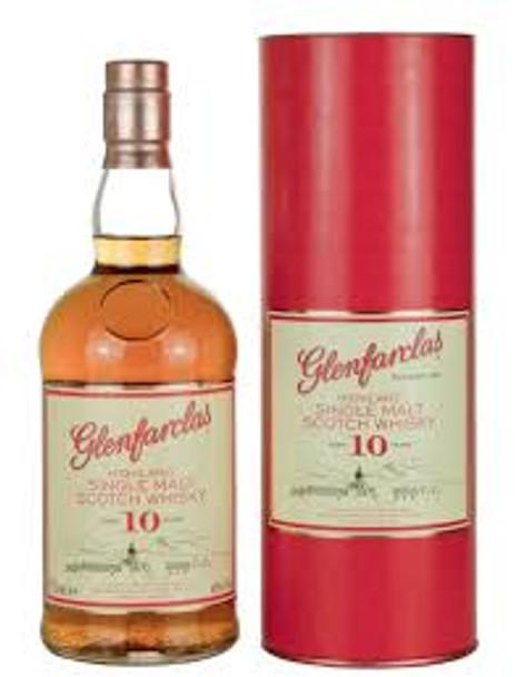 Glenfarclas scotch single malt highland 10yr old 750ml