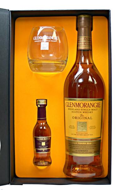 Glenmorangie scotch single malt 50ml shot gift pack 750ml