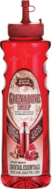 Master of mixes grenadine syrup 375ml