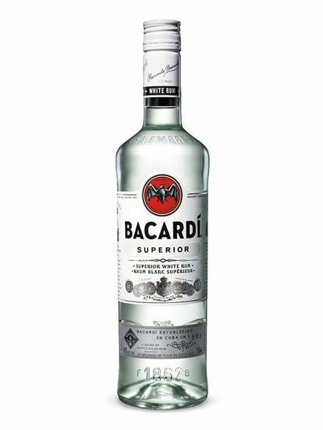 Bacardi superior rum 750ml