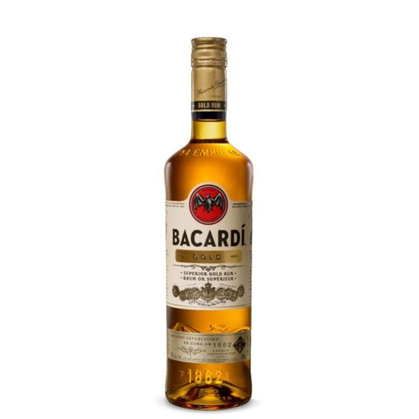 Bacardi gold rum 750ml
