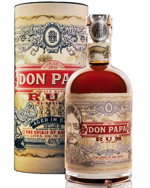 Don Papa small batch rum 80pf 750ml