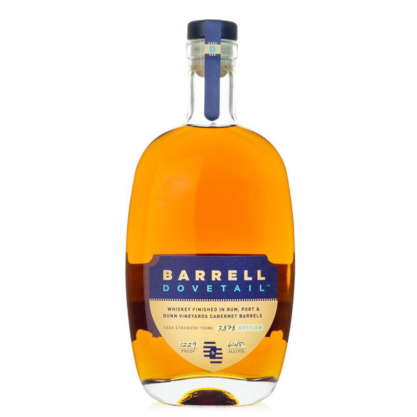 Barrell Dovetail whisky finished in rum 750ml