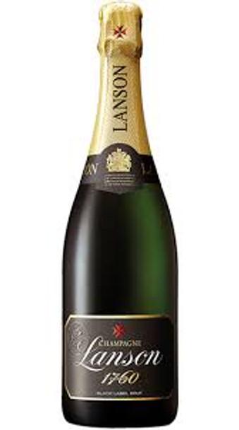 Lanson Champagne Black label Brut 1760 France 750ml
