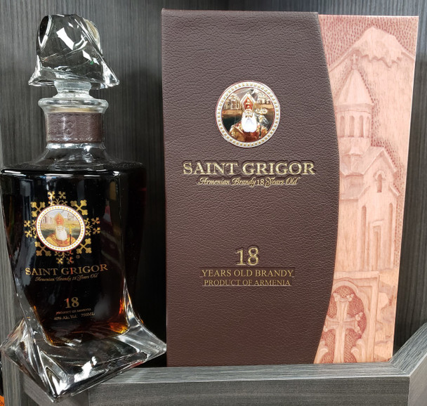 Saint Grigor brandy Armenia 18yr old 750ml