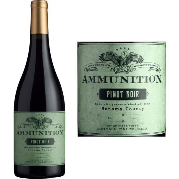 Ammunition Pinot Noir Sonoma County 2017 VT 750ml