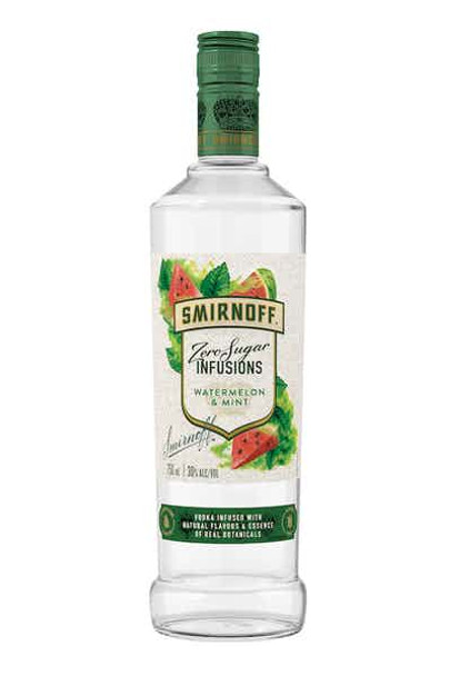 Smirnoff Infusions Watermelon&Mint Zero Sugar 750ml