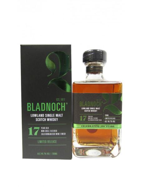Bladnoch Lowland Single Malt Whisky 17yr 750ml