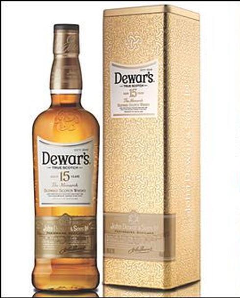 Dewar's scotch blended 15yr 750ml