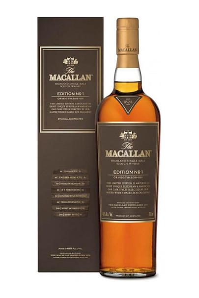 Macallan scotch single malt malt 1 edition 750ml