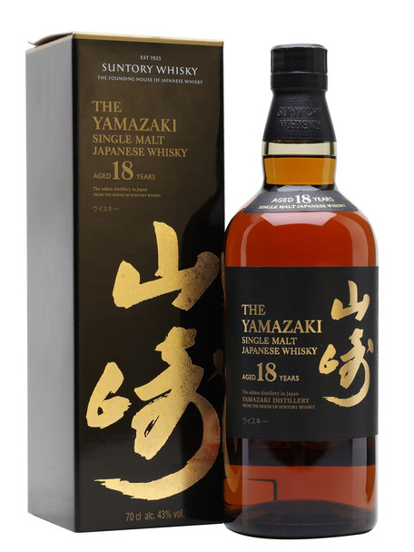The Yamazaki Suntory Whisky 18Y 750 ml