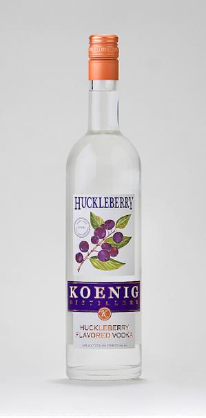 KOEING HUCKLEBERRY VODKA 750ML