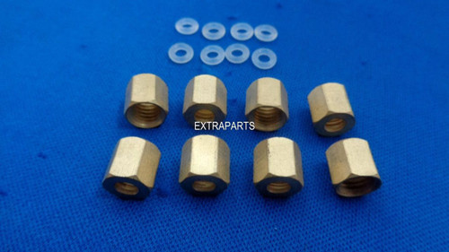 8x Copper thread O-ring for Epson 7600 9600 7800 7880 9800 9880 4800 4880 Small Damper