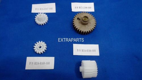 Fuser Gear Kit for HP LJ P4014 P4015 P4515 - (Set of 4)