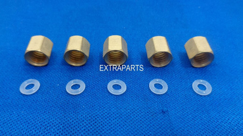 5x Copper thread O-ring for Epson 7600 9600 7800 7880 9800 9880 4800 4880 Small Damper