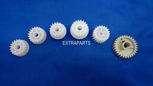 Set of 6 Gears HP LJ P3005 P3015 RU5-0956 RU5-0957 RU5-0958 RU5-0959 RU5-0966 RU5-0964