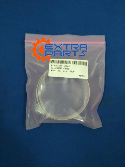 Q6651-60269 HP Design Jet Optical Media Advance Sensor (OMAS) Cable for HP DJ6100