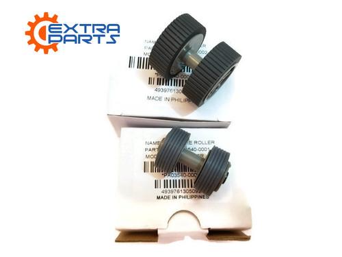 PA03540-0001 PA03540-0002 Fujitsu Scanner Brake and Pick Roller Set FI-6140 FI-6240 FI-6130 FI-6230 FI-6130Z