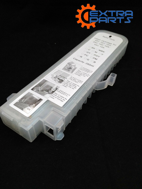 Empty Refillable Ink Cartridge for Canon IPF500 IPF510 IPF600 IPF610 IPF710 IPF605 IPF720  6pcs/set