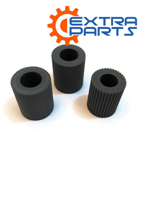 2AR07220 2AR07230 2AR07240 Paper Pickup Feed Separation Roller Tire rubber for Kyocera KM1620 1650 2020 2050 3035 3040 4030 5050