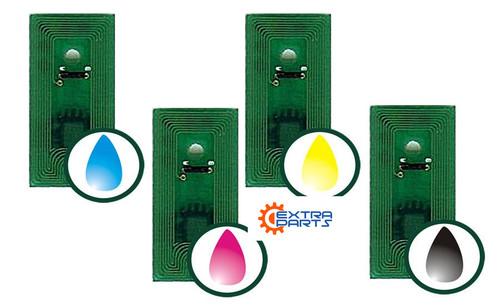 Ink Refil Chips (Qty 8 - CMYK  53428) for Primera LX900 series