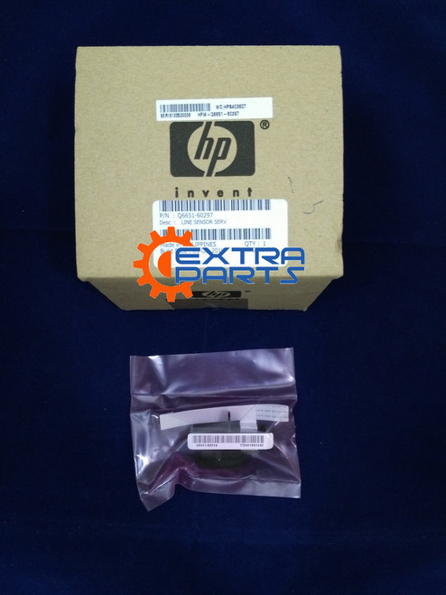 Q6651-60297 HP Line Sensor Assembly Includes holder and cable GENUINE