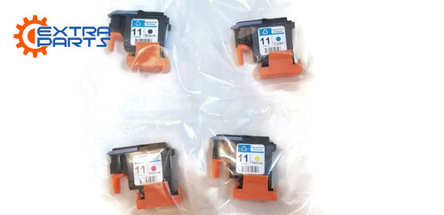 Set HP11 Printhead C4810A C4811A C4812A C4813A for HP 500 510 800 1000 1100 2600