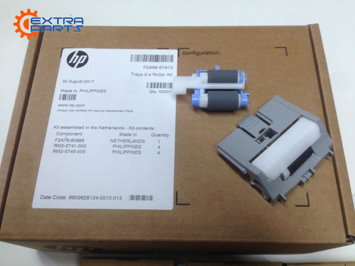 Genuine HP F2A68-67913 Tray 2/3 Roller Kit for HP LaserJet Enterprise M501 M506 M526 M527